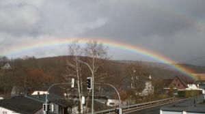 Regenbogen über Gernsdorf